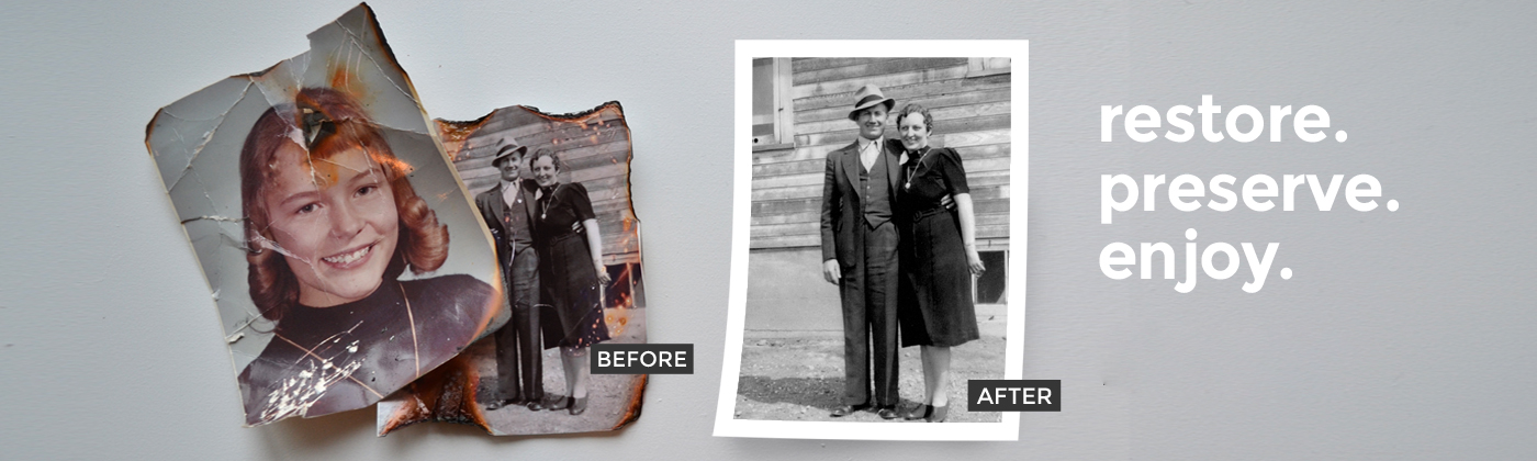 Picture Restoration Gold Coast & Oxenford - Print Productions